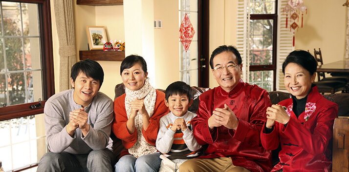 Adhering to the